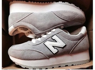shoes pastel sneakers grey sweater new balance new balance sneakers