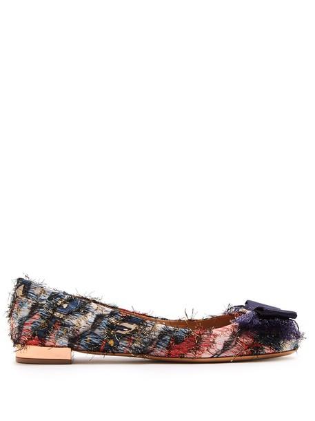 Salvatore Ferragamo bow ballet flats ballet flats shoes