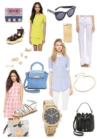 devon rachel blogger bag dress sunglasses jeans shoes phone cover jewels shirt