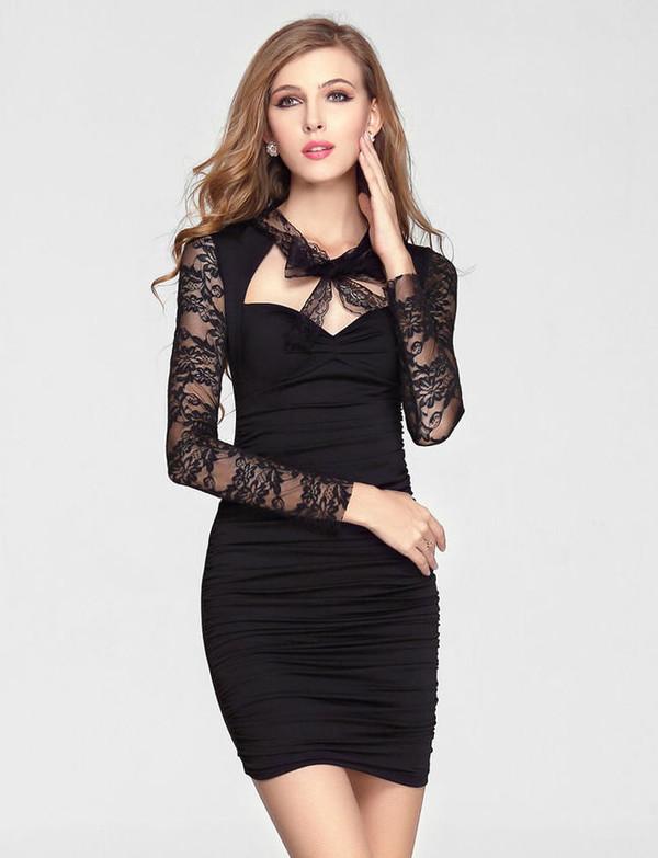 little black dress lace dress dress
