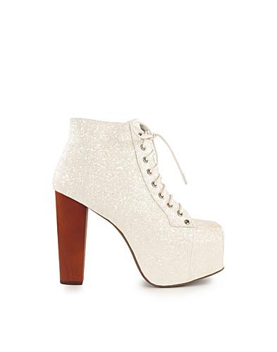 Lita Shoe - Jeffrey Campbell - White - Party shoes - Shoes - NELLY.COM UK
