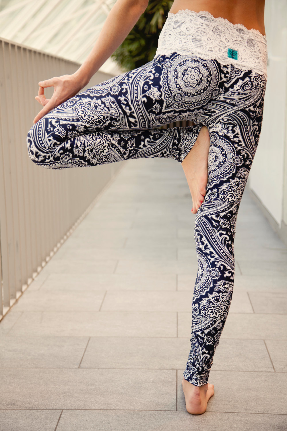 Waist yoga leggings