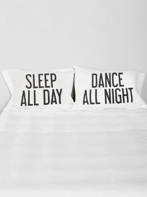 Dance All Night Pillow Case Set