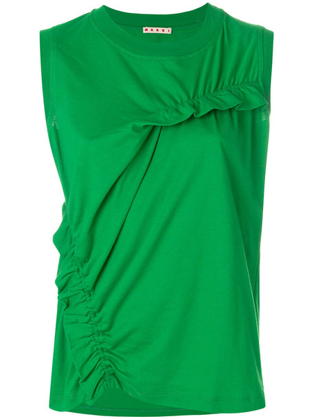 vest women cotton green jacket