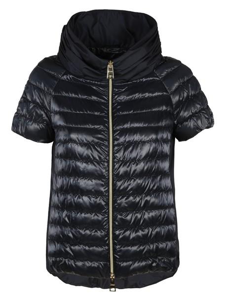 Herno jacket short blue