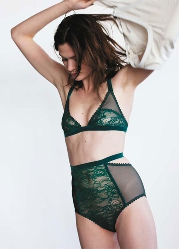 underwear lace lingerie green lace lingerie set lingerie set