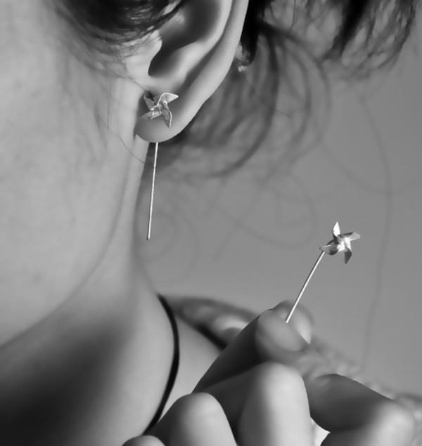 jewels earrings pinwheel pinterest pretty
