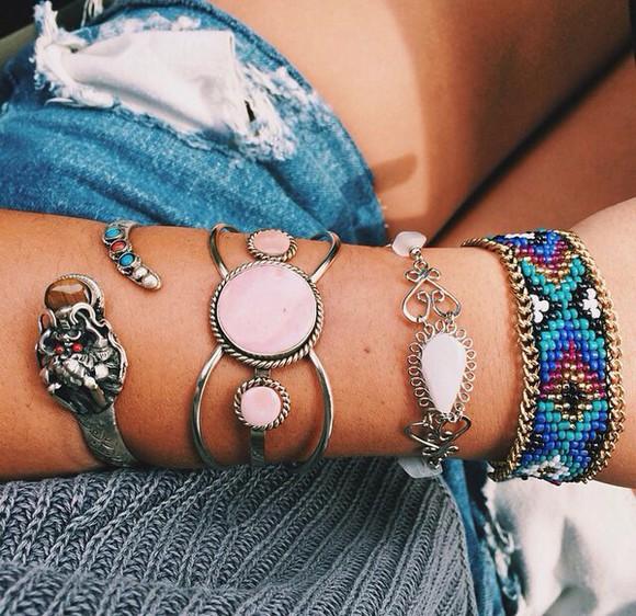 jewels boho hipster punk bracelets