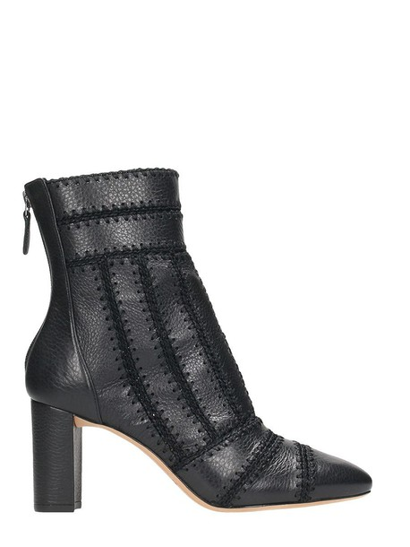 Alexandre Birman booties leather black shoes