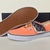 Vans Authentic (Brushed Twill) Fresh Salmon Men Size 8 VN-0VOEAQH