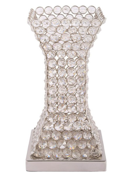 Home accessory vases vase crystal flowers home decor