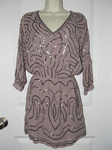 Victoria's Secret Sequin Blouson Dress s Small | eBay