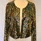 Gold sequin lulu jacket by pinkyotto | aoki boutiqueaoki boutique