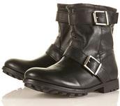 shoes,topshop leather biker boots,topshop,biker boots