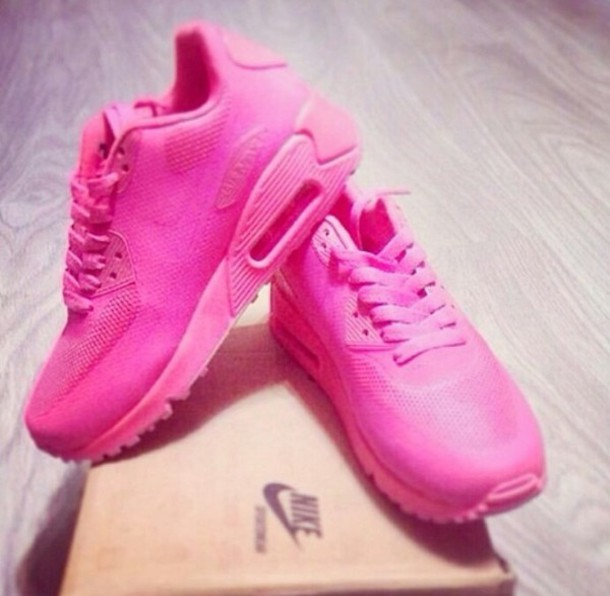 all pink air max 90 hyper pink