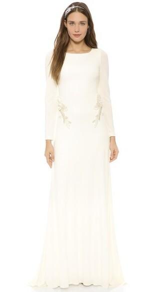 gown back open open back dress