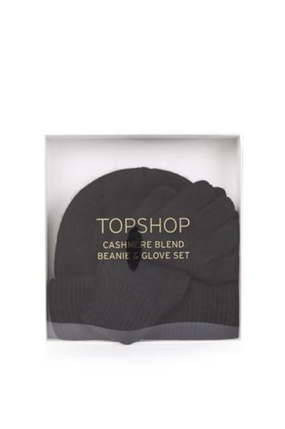 Topshop beanie black hat