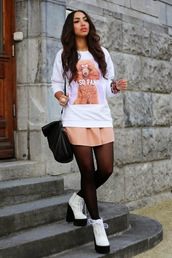 from hats to heels,blogger,jewels,animal,skirt,wedges,jumper