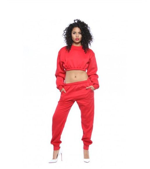 jumper set two piece matching suit set two pieces