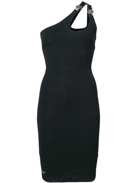 PHILIPP PLEIN dress cocktail dress women spandex black