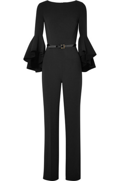 Michael Kors Collection jumpsuit black wool