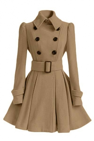 coat nude fashion style trendy beige fall outfits trench coat jacket long sleeves beautifulhalo