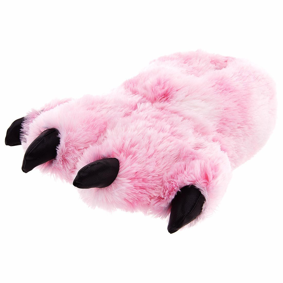 Adult bear paw slippers