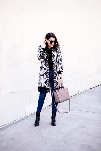 kendi everyday blogger cardigan t-shirt bag shoes sunglasses