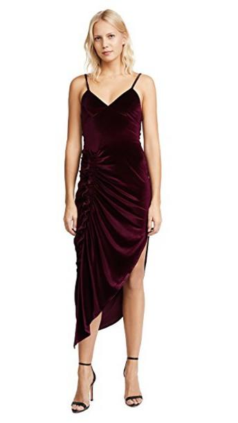 Ronny Kobo dress purple
