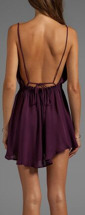 dress,open back,purple dress,purple,low back,backless,summer,sexy,royal purple,burgundy