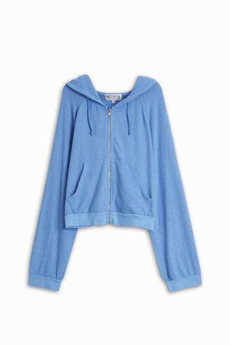 hoodie blue sweater