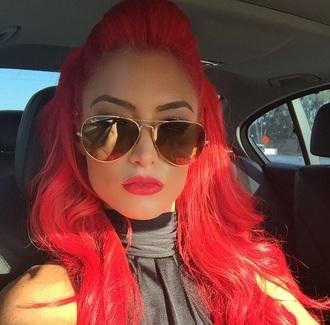 sunglasses evamarie gold rayban
