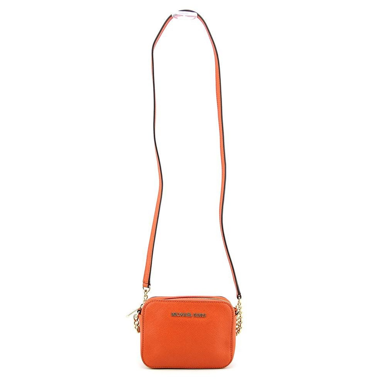 631afeb91ed1 MICHAEL Michael Kors Jet Set Travel Crossbody Orange: Handbags: Amazon.com