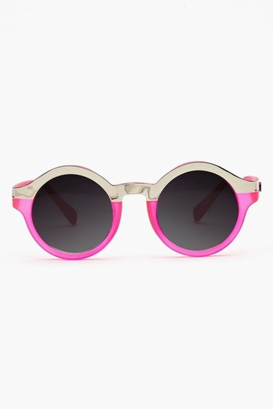 sunglasses rounded sunglasses round sunglasses round neon simple pink sunglasses designers designer