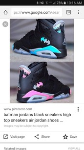 shoes,jordan 23,batman,sneakers,jordans