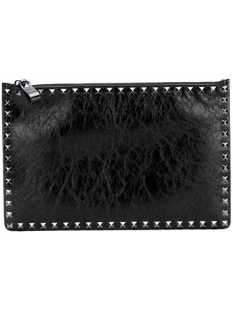 noir clutch black bag