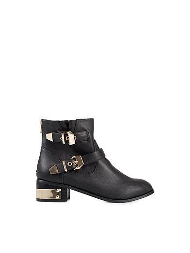 Upton Boot - Nly Trend - Sort - Hverdagssko - Sko - Kvinde - Nelly.com