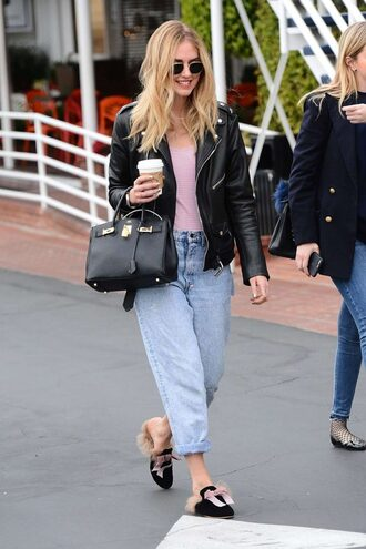 jeans top jacket chiara ferragni the blonde salad boyfriend jeans streetstyle fall outfits blogger