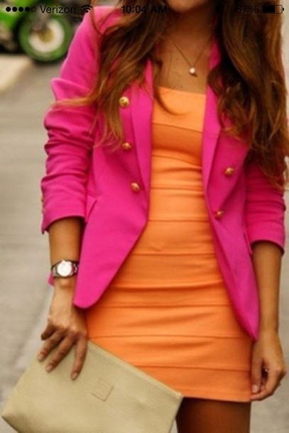 dress jacket blouse