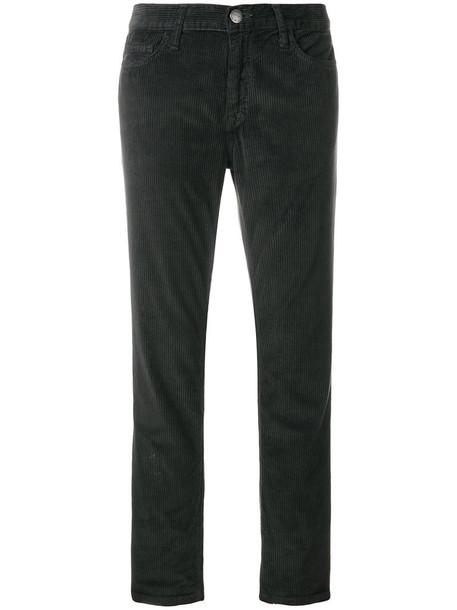 Current/Elliott cropped women cotton grey pants