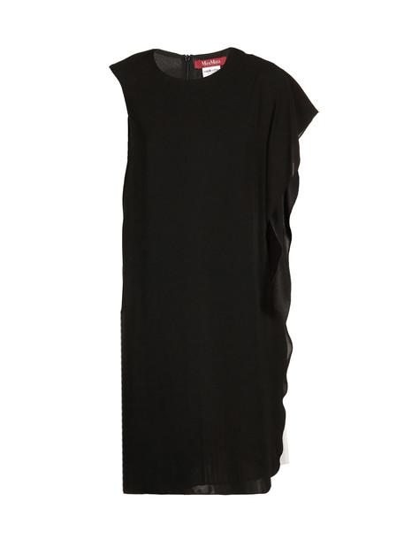 Max Mara Studio Layered Dress in nero