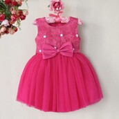 dress,kids dress,baby clothing,baby dress,pink dress,birthday dress,baby outfit,partywear,toddler dress