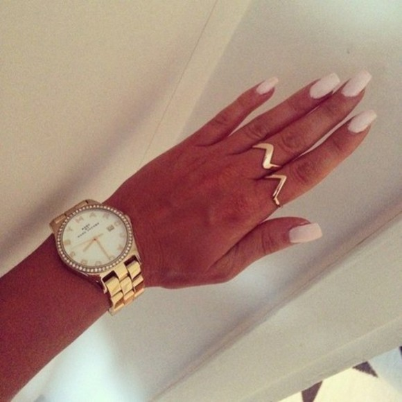 jewels marc jacobs watch gold