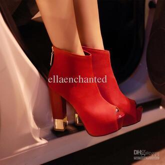 shoes red high heels redheels high heels open toes open toes heels