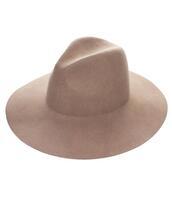 hat,fedora,women,wool,wool hat,tan,tan hat