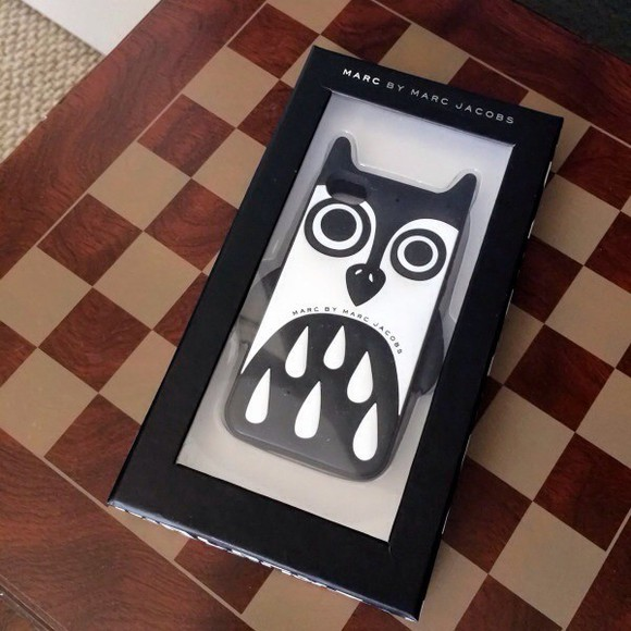 owl jewels marc jacobs iphone 5 want it!!! want it!!!!