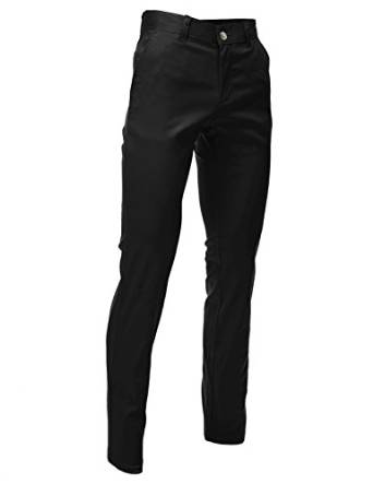 FLATSEVEN Mens Slim Fit Chino Pants Trouser Premium Cotton at Amazon Men's Clothing store: Zara Men