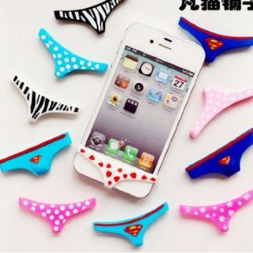 Sexy Lady Underwear Thong Soft Silicone Home Button Case Cover for Iphone 5 4 4s on Wanelo