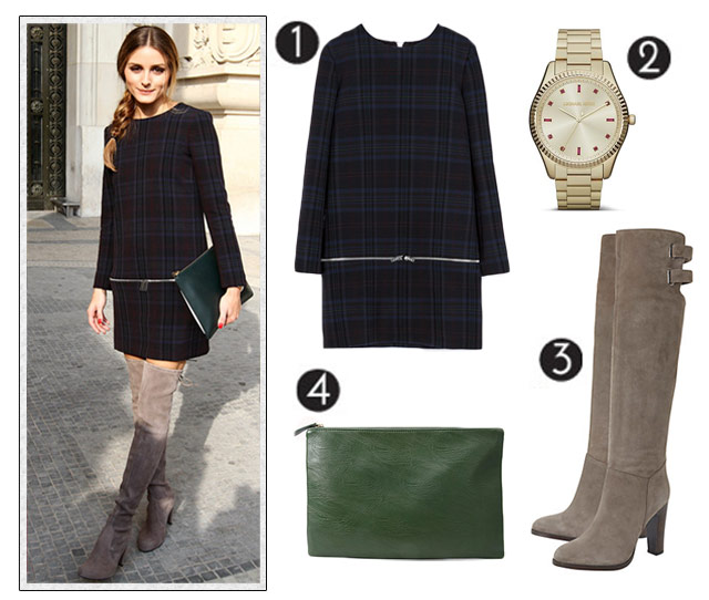 Did olivia palermo wear zara to paris fashion week?