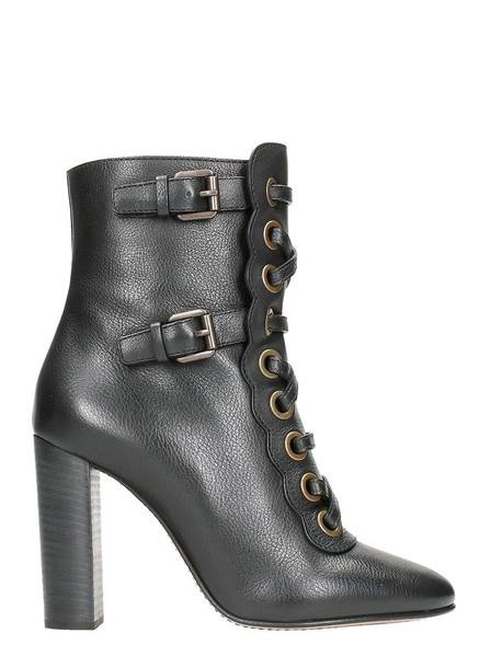 Chloe ankle boots black shoes